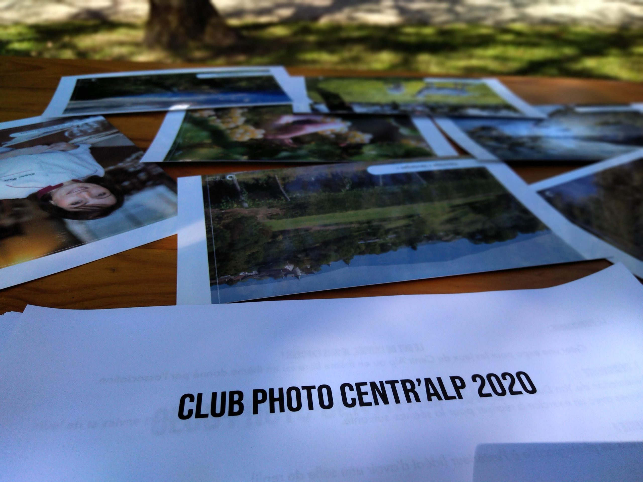 programme du club photo