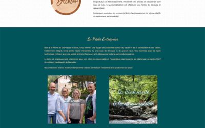 Site internet sur mesure : madécobois.fr