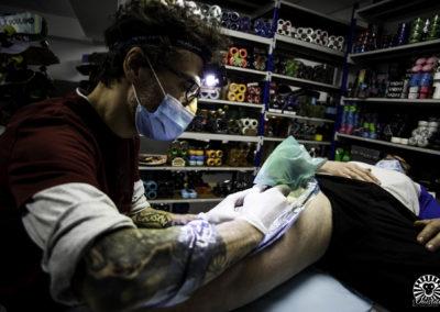 Reportage photo -Tattoo Jam Session Fulkit Skate Shop