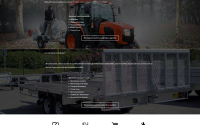 Site web et plaquette de JP Construction